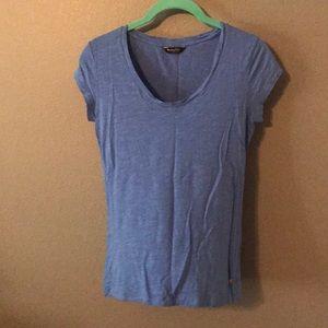 Massimo Dutti Blue T Shirt Small